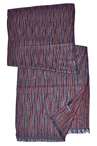 BORDERLINE - écharpe pour hommes d'hiver - 12A1CG076 Rouge