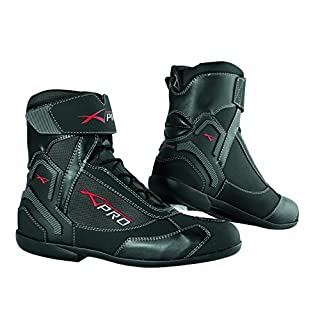 A-Pro Winter Motorbike Motorcycle Breathable Waterproof Leather Boots Black 39