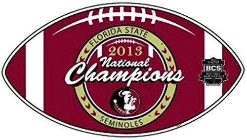 Florida State FSU NCAA Lizenzprodukt 2013National Champions Auto/Truck Magnet Champions Auto-magnet