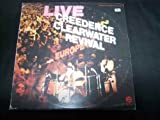 CREEDENCE CLEARWATER REVIVAL 2LP, LIVE IN EUROPE, US ISSUE PRE-OWNED EX/EX CONDITION LP