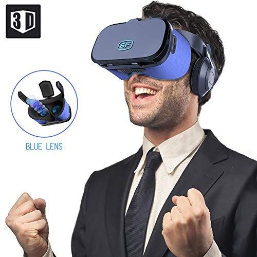 LHR 3D VR Brille,HD Virtual Reality 3D VR Headset/Stereo Headset/Für 3D Filme Und Spiele Video Movie Game/Für iPhone & Android