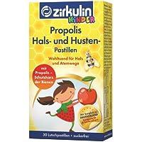ZIRKULIN Propolis Hals- und Husten Pastillen Kids 30 St Pastillen preisvergleich bei billige-tabletten.eu