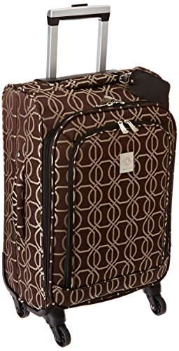 jenni-chan-links-360-quattro-21-inch-luggage-brown-one-size