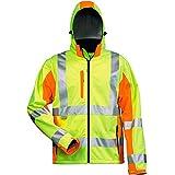 Elysee Warnschutz-Softshelljacke Adam Größe, 1 Stück, 2XL, gelb/orange, 22735-2XL