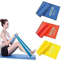 Potok Lot de 3 Bandes élastiques Fitness 1.2M- 1.8M Gym, Fitness