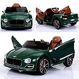 Bentley Elektro Kinderauto / Ledersitz / 2 x 390 Motor / 2 x 6V4AH Batterie / Modell 2018
