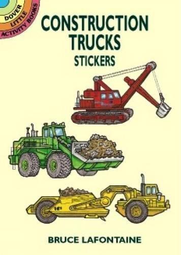 Preisvergleich Produktbild Construction Trucks Stickers (Dover Little Activity Books)