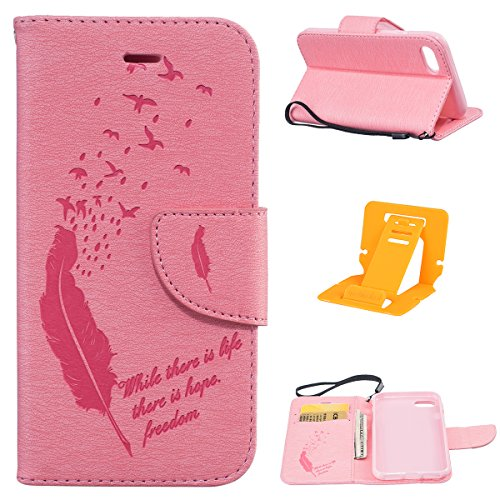 iphone 7 Custodia, Ekakashop Lusso Diamante Design Flip Folio PU Leather Book Wallet Custodia Tasca Chiusura Magnetica Stile del libro del Protettiva in Pelle Stand Cassa Case Cover per Apple iphone 7 C#2