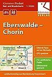 Klemmer Pocket Rad- und Wanderkarte Eberswalde – Chorin: GPS geeignet, Erlebnis-Tipps auf der Rückseite, 1:50000