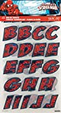 Dc Comics Iron - On Alphabet Transfer Sheets - Spider - Man (Pack of 1 )