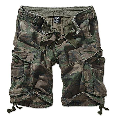 Brandit Vintage Shorts Classic woodland