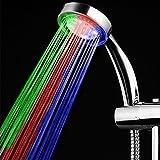 LED Handbrause Bad Duschkopf 7 Farbe LED Duschkopf Wassereinsparung Modifizierte Hochdruck Anion Filter Mit 1,5 M Schlauch