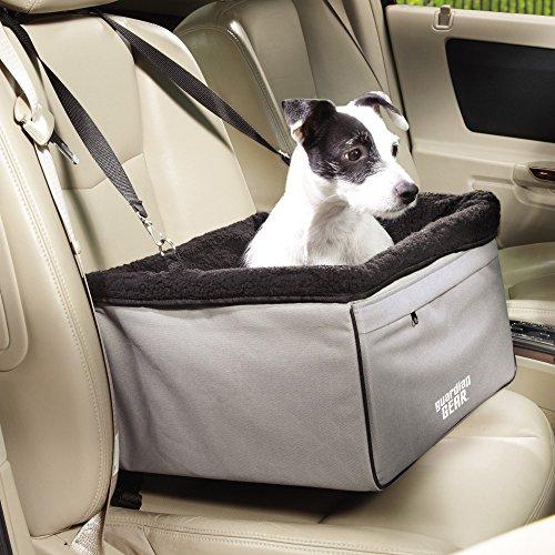 Guardian Gear Sightseer II Autositz-praktisch Autositz für Hunde-Kleine, Slate (Hund Parka Small)