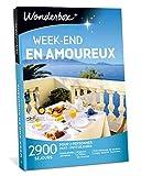 Wonderbox - Coffret cadeau couple - WEEK-END EN AMOUREUX - 2900 séjours romantiques : hôtels, domaines, maisons d'hôtes de charme...