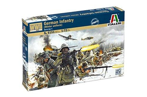 Italeri 6151 - german infantry - winter uniform (wwii) scala 1:72