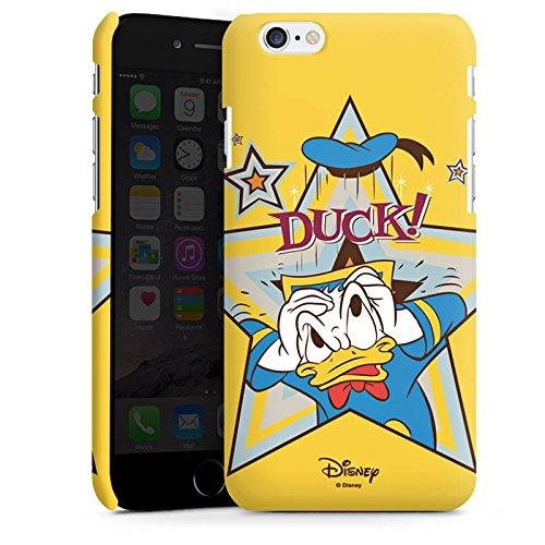 Apple iPhone X Silikon Hülle Case Schutzhülle Disney Donald Duck Fanartikel Geschenk Premium Case matt