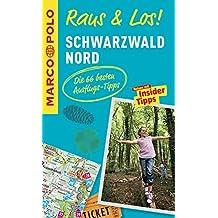 MARCO POLO Raus & Los! Schwarzwald Nord: Guide und große Erlebnis-Karte in praktischer Schutzhülle