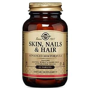 Skin nails and Hair Solgar Integratore Alimentare per Capelli e Unghie - 60 Tavolette