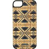 Recover+ Pendleton Printed Wood Case iPhone 5/5S - Retail Packaging - Orange