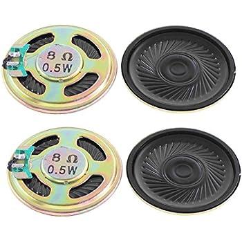 """2/"""" Dmr Runde Kleinlautsprecher Miniaturlautsprecher Mini Lautsprecher 8Ohm 0.5W"""
