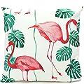 Bada Bing Outdoor Kissen Dekokissen Flamingo Farn 45 x 45 Palmen Blätter Trend von Pink Panther GmbH kostenloser Versand bei Gartenmöbel von Du und Dein Garten