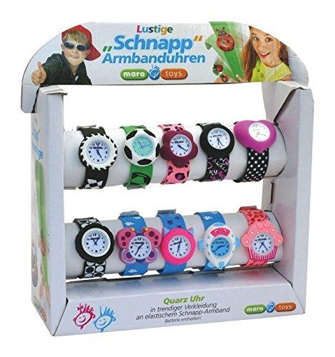 Maro Toys - Reloj de Pulsera con Pantalla de 10 Piezas (2 Piezas)