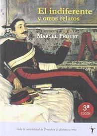 El indiferente par Marcel Proust