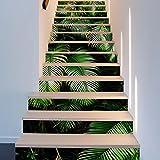 Frolahouse 13pcs kreative dekorative 3D Landschaft selbstklebende Treppe Riser Decal - Treppe Aufkleber für Wände Küche Badezimmer Treppe Decals Home Dekorationen Einheitsgröße 7