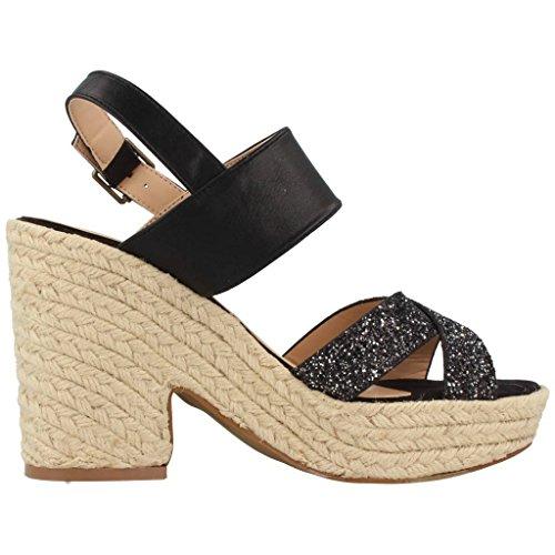 Sandales, couleur Noir , marque CHIKA10, modèle Sandales CHIKA10 BACHATA 05 Noir Noir