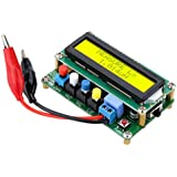 Topker LC100-A Digital LCD Alta precisión Inductancia Inductancia L / C Medidor Capacitor Prueba Mini interfaz USB