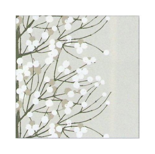 marimekko-finnish-designer-lumimarja-grey-white-berry-floral-luxury-traditional-paper-table-napkins-