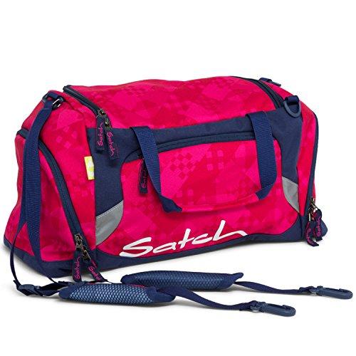 SATCH Cherry Checks Kinder-Rucksack, 50 cm, Lila -