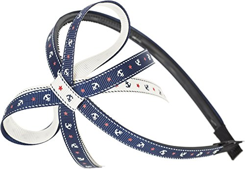 Cute Sailor ANKER Anchor NIMAH BOW Haarreif / Hairband Rockabilly
