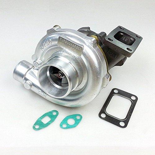 Preisvergleich Produktbild Gowe Turbo für Universal Turbo t3t4t04e Ölkühler V Band COM A/R .60Turbine A/R .63T3Flansch 300-400hp