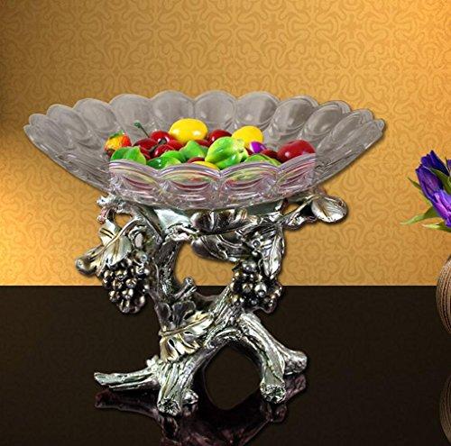 ZYT Europäischen und amerikanischen Stil Luxus Vintage Frucht. die kreative Ornamente Reben Süßigkeiten Schüssel Kompott Vintage-kompott