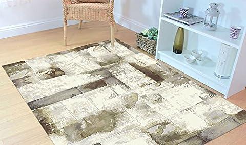 Tapis sitap moderne de design tons de beige Laguna 63354–6282 cm.160x230 LAGUNA 63354-6282