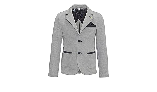 huge discount 77fa6 a92b5 Armani Junior Boys  Blazer - Grey - 128 cm  Amazon.co.uk  Clothing
