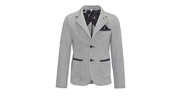 huge discount b2ca5 e1656 Armani Junior Boys  Blazer - Grey - 128 cm  Amazon.co.uk  Clothing