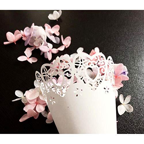 Dyda6 Konfetti-Kegel, für Hochzeit, Geburtstag, Babyparty, 50 Stück, Wie abgebildet, Butterfly