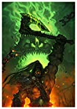 T Poster Grommash World of Warcraft (A) - A3 (42x30 cm)