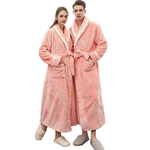 POLP Albornoz Mujer Pijama camisón Vestido Premamá Largo de Mujer Embarazada de Maternidad Ropa Larga...