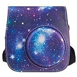 [Custodia per Fujifilm Instax Mini 8/ Mini 8s/ Mini 9]- ZWOOS Materiale PU Custodie e Borse Per Fujifilm Instax Mini 8/ Mini 8s/ Mini 9 Fotocamera Istantanea (Galassia)