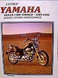 Clymer Yamaha Xv535-1100 Virago 1981-1995: Xv535 Virago, 1987-1995 by Unknown (1995-08-02)