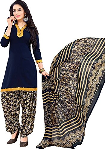Space Women's Crepe Printed Salwar Suit Patiyala with Dupatta Material, Kurta & Churidar Material (Un-stitched) (Amazon Freedom Sale Offer Aug 9th-12th Special Prime offer Aadi offer Amazon Fashion END OF SEASON SALE 40% - 60% offer Today's Deal offer Lightning deals Unique Designs Offer Prime Video Offer Gift card Offer) (below 500rs crepe dress materials combo dress material for womens online latest Crepe ladies dress material buy below 600 party wear dress material) 2008