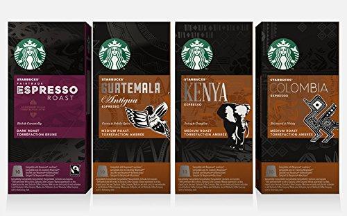 Buy Starbucks Espresso Nespresso Compatible Pods 10 by Starbucks