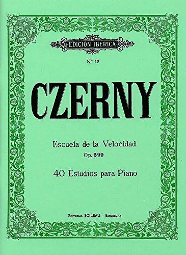 Escuela de la Velocidad Op.299: 40 Estudios para Piano por Carlos Czerny