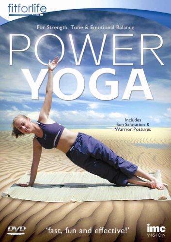 Power Yoga - Ashtanga Yoga for Strength & Toning - Fit for Life Series [DVD] [Edizione: Regno Unito]