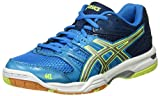 Asics Herren Gel-Rocket 7 Turnschuhe, Blau (Blue Jewel/Glacier Grey/Safety Yellow), 49 EU