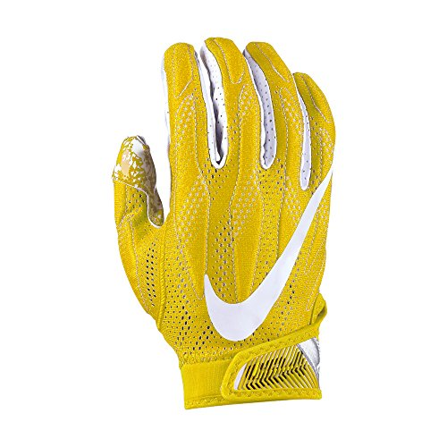 Nike Superbad 4.0 American football gloves, yellow Test