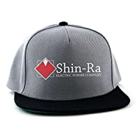 Arcane Store Final Fantasy: Shin-Ra Movie Snapback Cap (Grey/Black)